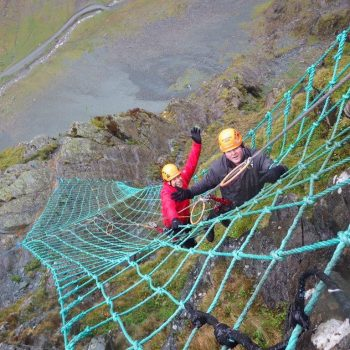 Cargo Net Via Ferrata at Honister