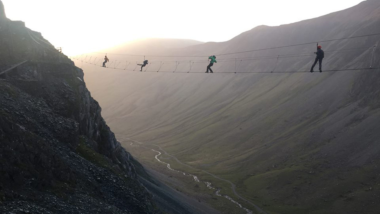 Infinity Bridge at Honister