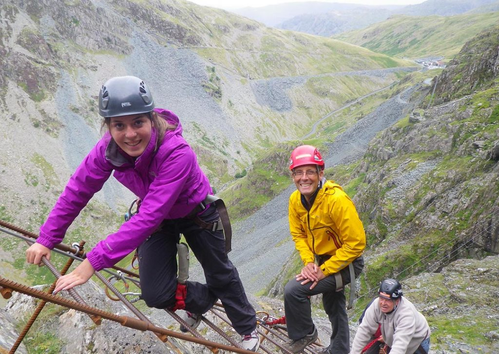 Via Ferrata Classic at Honister