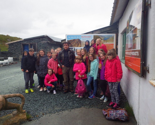 Groups at Honister
