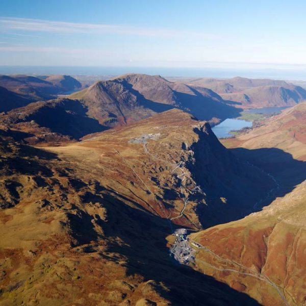 Honister Slate Mine in the Lake District Cumbria