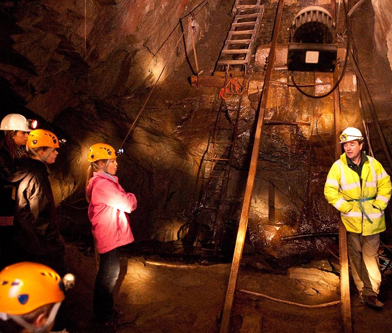 Kimberley Mine Tour at Honister