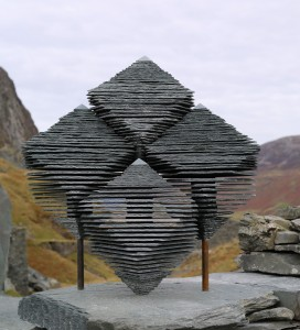 Honister Green Slate Sculpture