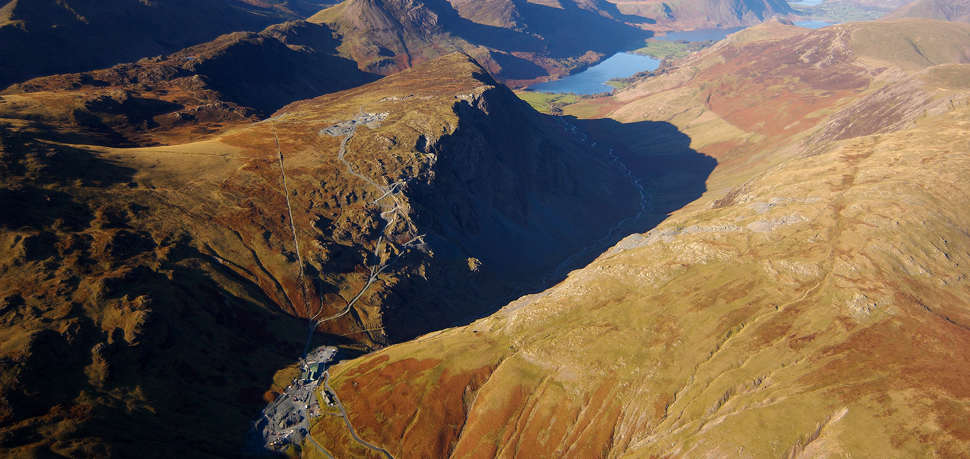 honister aerial